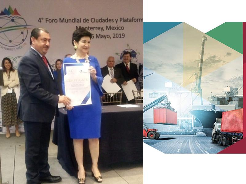 Puerto Cortés recibe Certificación Internacional de Logística Justa.