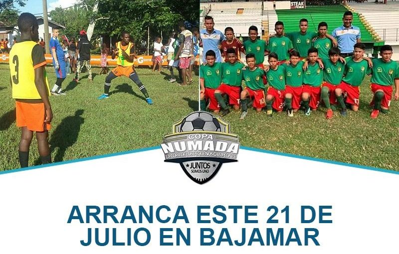IMDEPOR Fútbol presente en la Copa Numada.