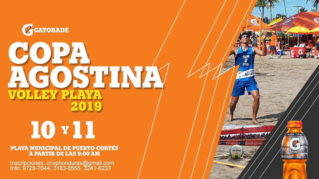 10 y 11 de Agosto, Copa Agostina de Volley Playa 2019.