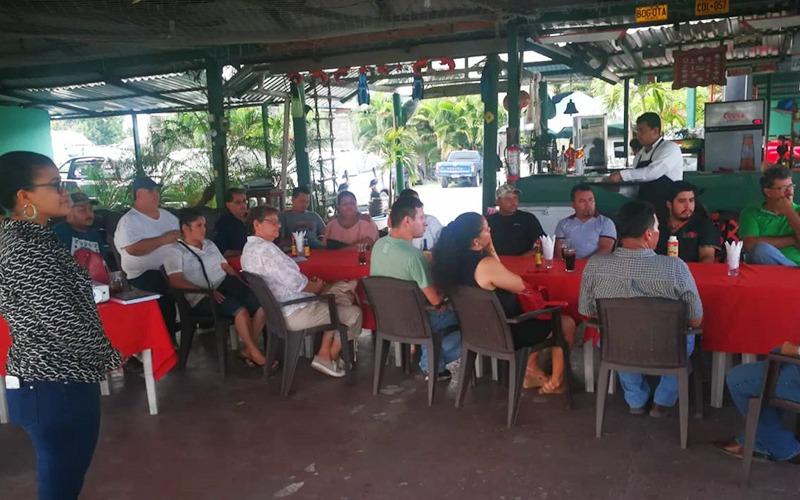 Nos reunimos con dueños de Hoteles y Restaurantes locales para trabajar estrategias de promoción.
