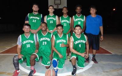 IMDEPOR Basquetbol clasificó a semifinales en Torneo Navideño.