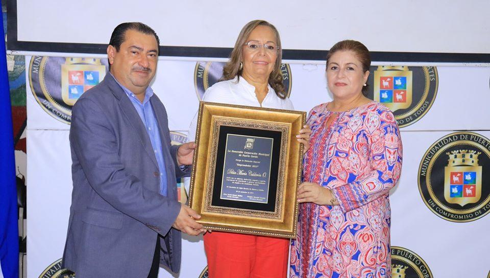 Dilsia Maria Calderon Orellana ¨Emprendedora Porteña 2019¨