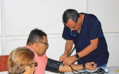 Atendimos 3,961 pasientes en Brigada de Salud.