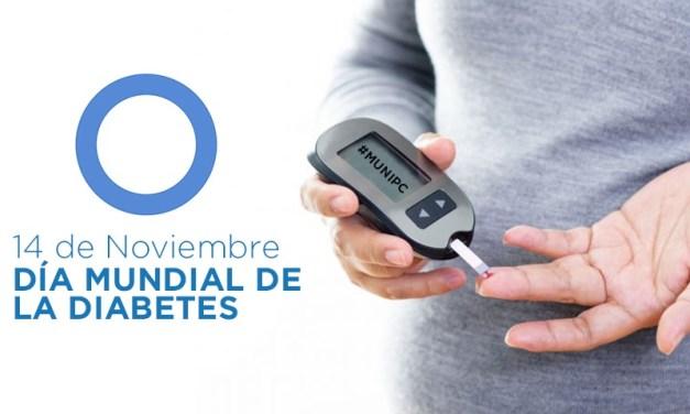 En este dia decimos: Alto a la Diabetes.