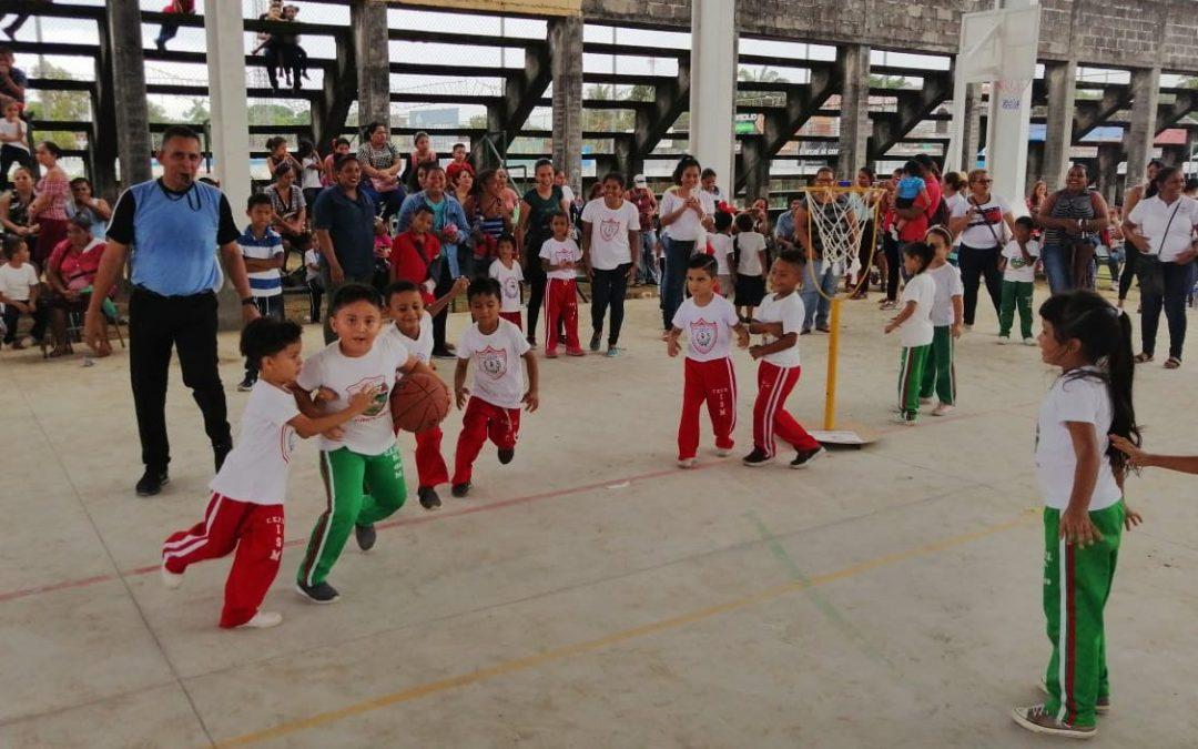 Desarrollamos el Primer Torneo de Baby Basquetbol.
