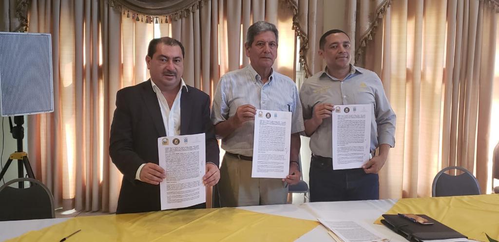 Realizamos la suscripción de Convenio de Comanejo para Áreas de Protección Forestal.
