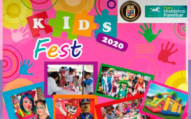 Sábado 22 de febrero te esperamos en el ¨KidsFest¨ 2020.