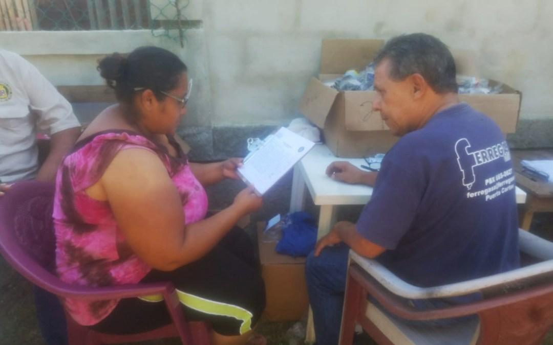 Socializamos los Programas de Personas con Discapacidad y Adulto Mayor en la Colonia Vacacional.