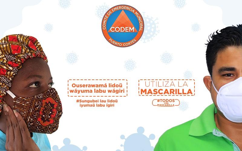 El uso de mascarilla ayuda a prevenir COVID-19