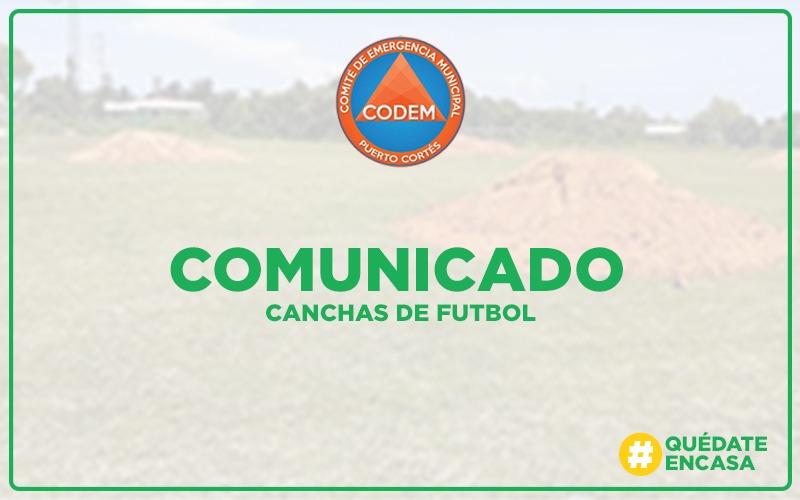 Aclaración sobre Cierre de Canchas de Fútbol.