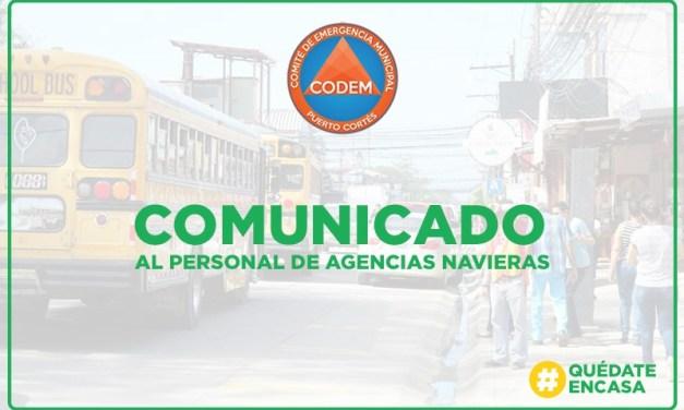 Al personal de Agencias Navieras e instituciones a fines comunicamos disposiciones de la OSI.