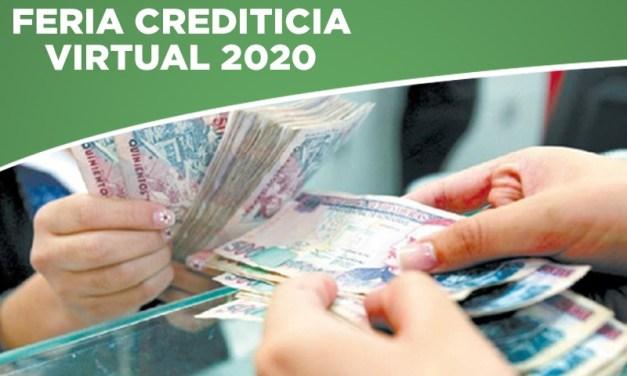 Inscríbete y participa en nuestra Primera Gran Feria Crediticia Virtual 2020.