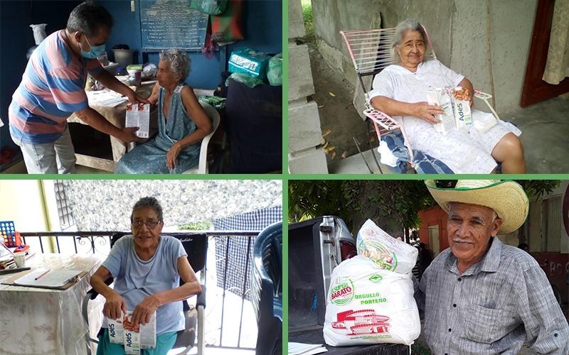 Hasta la fecha hemos entregado 4,220 ayudas a Adultos Mayores y Personas con Discapacidad.