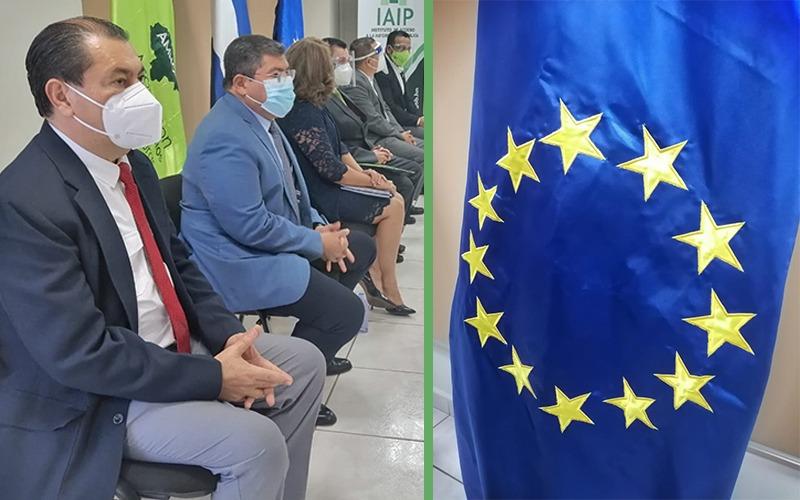 Puerto Cortés presente como Testigo en la Firma de Actas de ¨Modelos de Municipios Transparentes¨