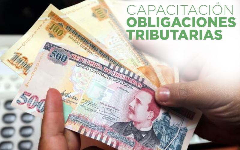 Participa en la ¨Capacitación Obligaciones Tributarias¨, viernes 2 de Octubre.