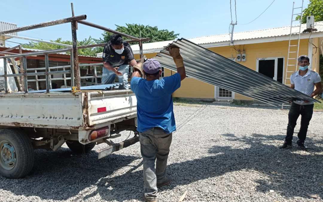 Más familias beneficiadas con ayudas de materiales de construcción
