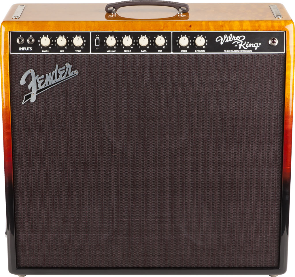 Fender Limited Edition VibroKing Tequila Sunrise  Ampwares