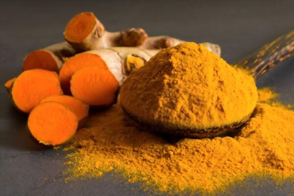 Turmeric has antioxidant properties