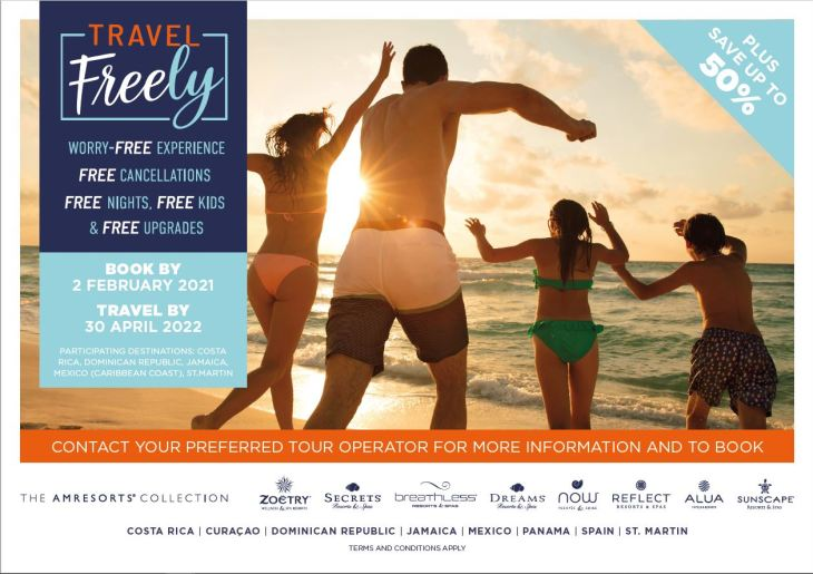 Travel Freely agent flyer