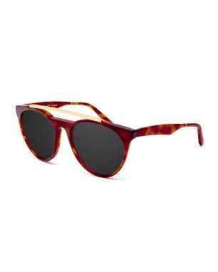 Smoke X Mirrors Sugarman Rounded Square Sunglasses