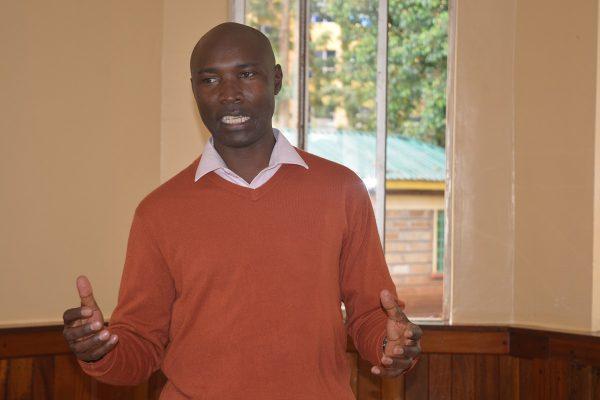 Simon Rukwaru, County Community Health Strategy Coordinator, Meru County