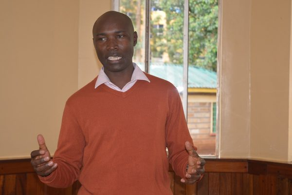 Simon Rukwaru, County Community Health Strategy Coordinator, Meru County