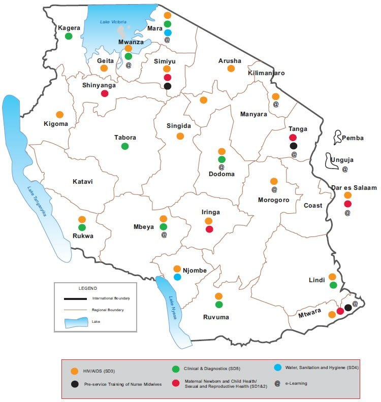 Amref Health Africa in Tanzania Reach