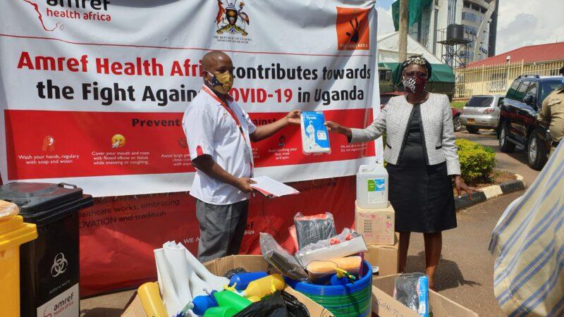 Dr. Patrick Kagurusi Head of Programs at Amref Health Africa in Uganda