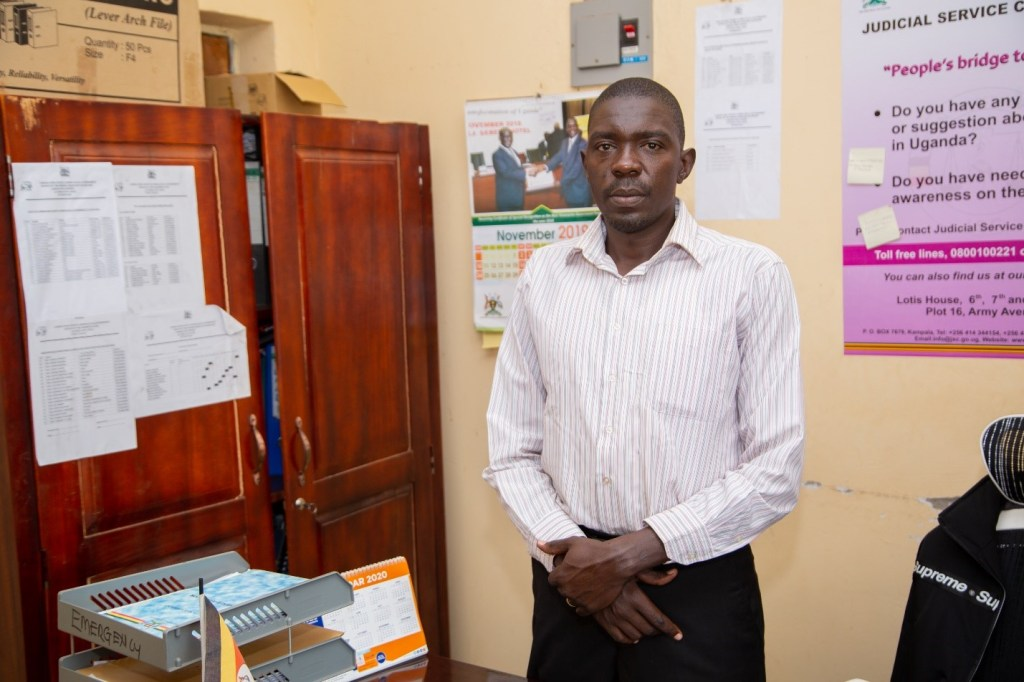 Mr. Walter Okello the sub-country chief  of Lamogi  in Amuru district