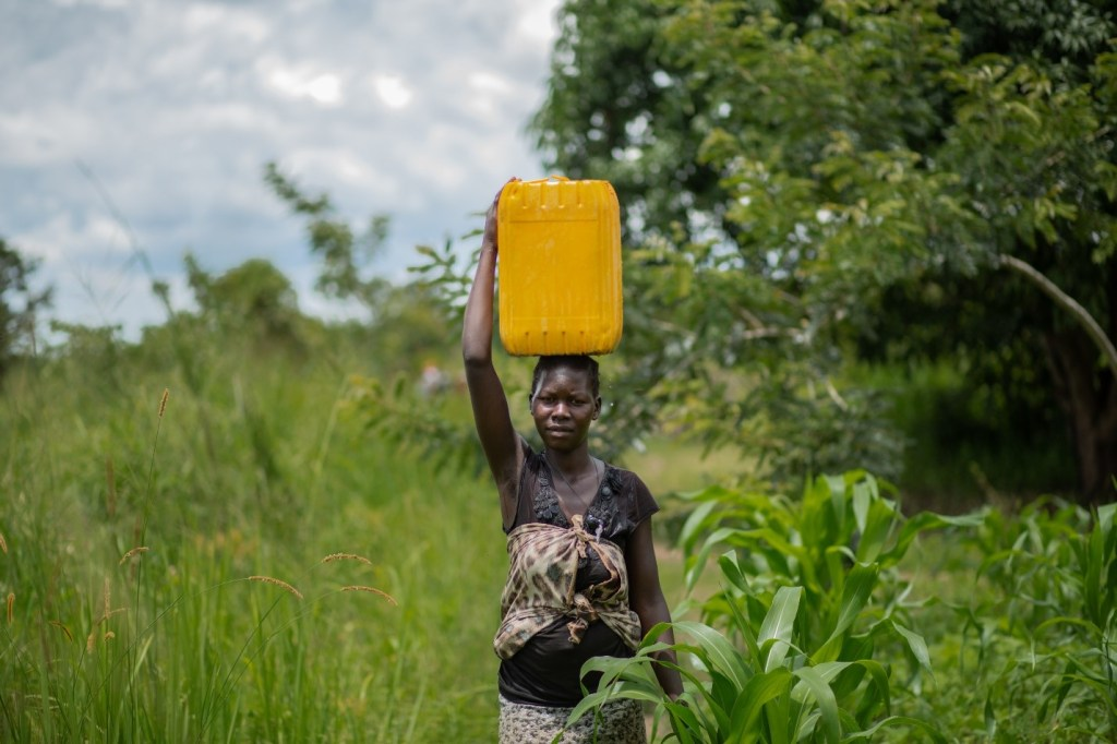 Walking long distances to collect water from very unsafe areas put many teenage girls in the path of danger.