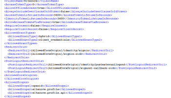 Sitecore Identity – 3 – Adding mobile native clients