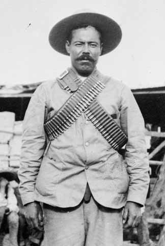 Pancho Villa: no more than a homeopathic dose of European blood