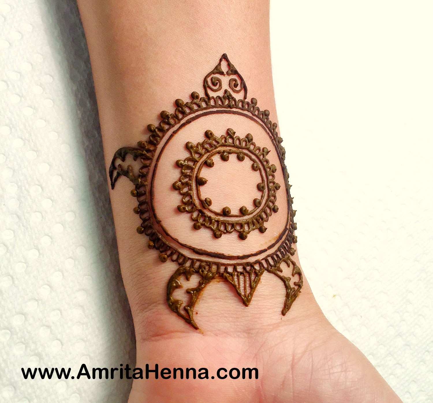 Easy Drawing Mehndi Design Henna Simple Flower Drawing Sketch Library