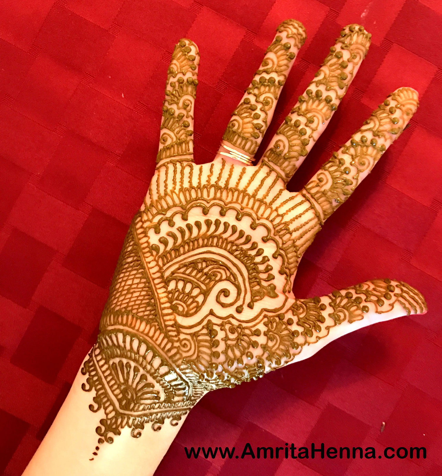 Bridal Henna Designs For Hands Easy