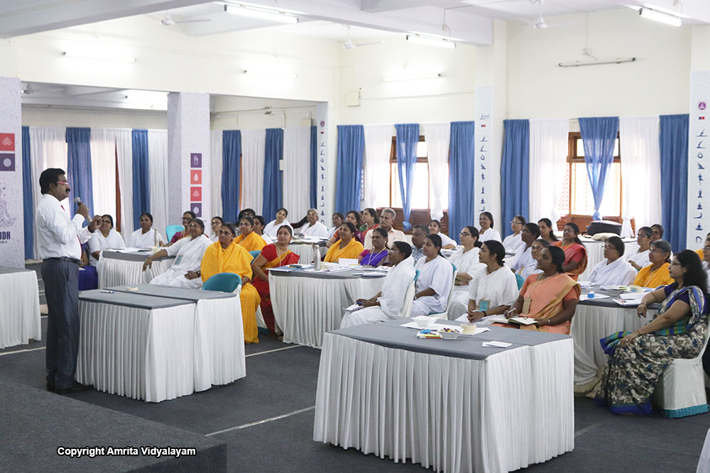 Conducted at Amritapuri