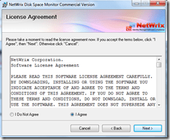 Setting up Netwrix Disk Space Monitor tool (2/6)