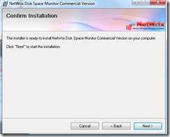 Setting up Netwrix Disk Space Monitor tool (4/6)