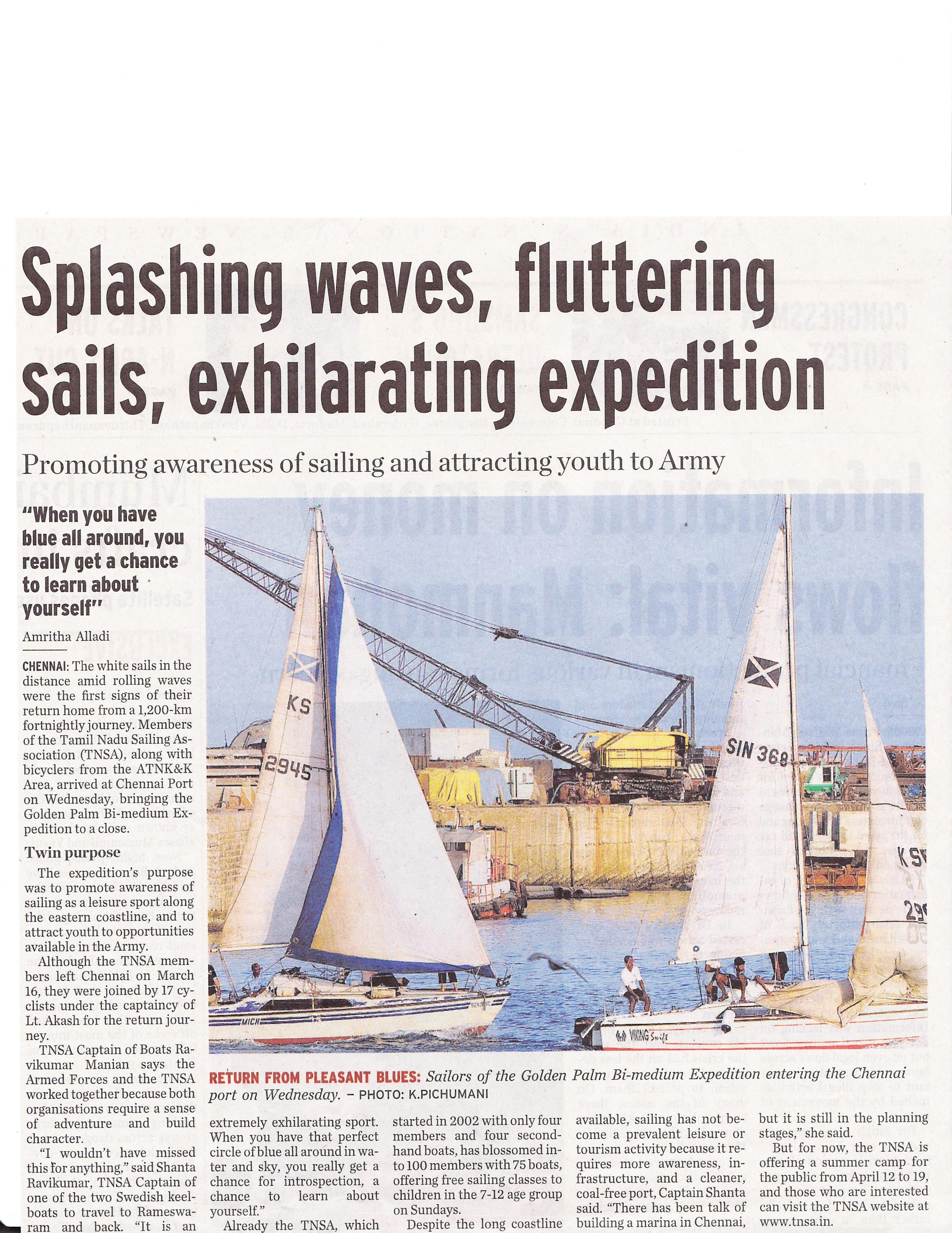 sailing expedition