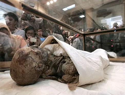 Mumiensaal im Museum