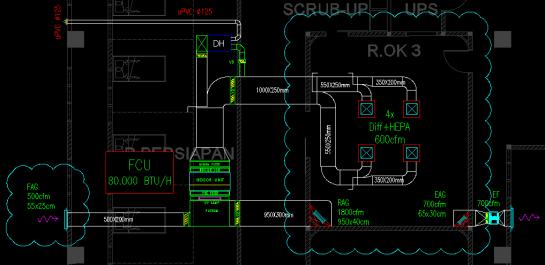 Sistem VAC Ventilating and Air Conditioning Rumah Sakit