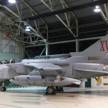 Le Tornado du patron du XV le «Mc ROBERTS» qui sera préservé malgré la dissolution du XV Sqd