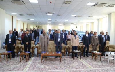 الملتقى الأول لمدراء أقسام شؤون الطلبة والتسجيل في الجامعات العراقية