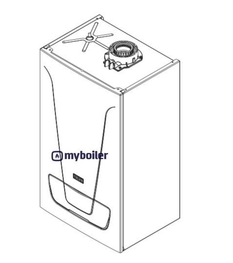 Baxi EcoBlue Advance Combi 24 28 33 40 Erp 28 33