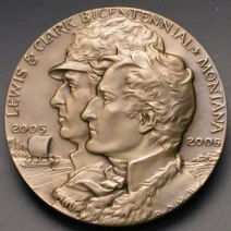 Lewis & Clark medal, Montana Historical Society
