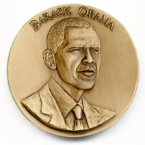 The 2009 Official Presidential Inaugural Medal - Obverse