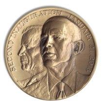 Unofficial Barack Obama Joe Biden Medal - Obverse