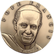 """""""Pope Francis Medal"""", 2015, bronze"""
