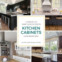 Kitchen Cabinets Brands Orange Appliances 9 Upgrades To Make Your Outdated Look