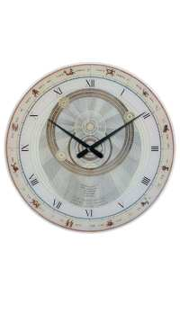 AMS 9232 large round wall clock