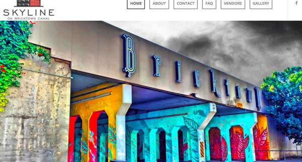 Skyline on Bricktown Canal website